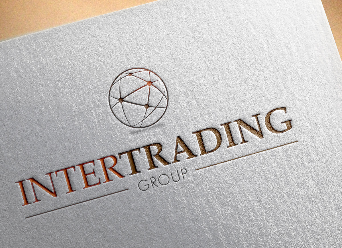 Intertrading group logo design