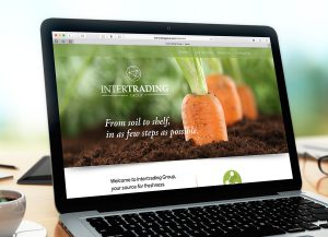 Intertrading Group webdesign