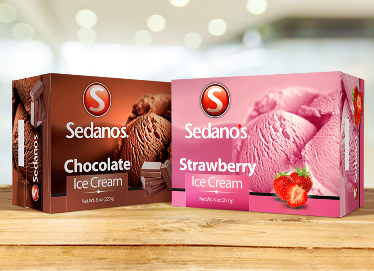 Sedanos ice cream