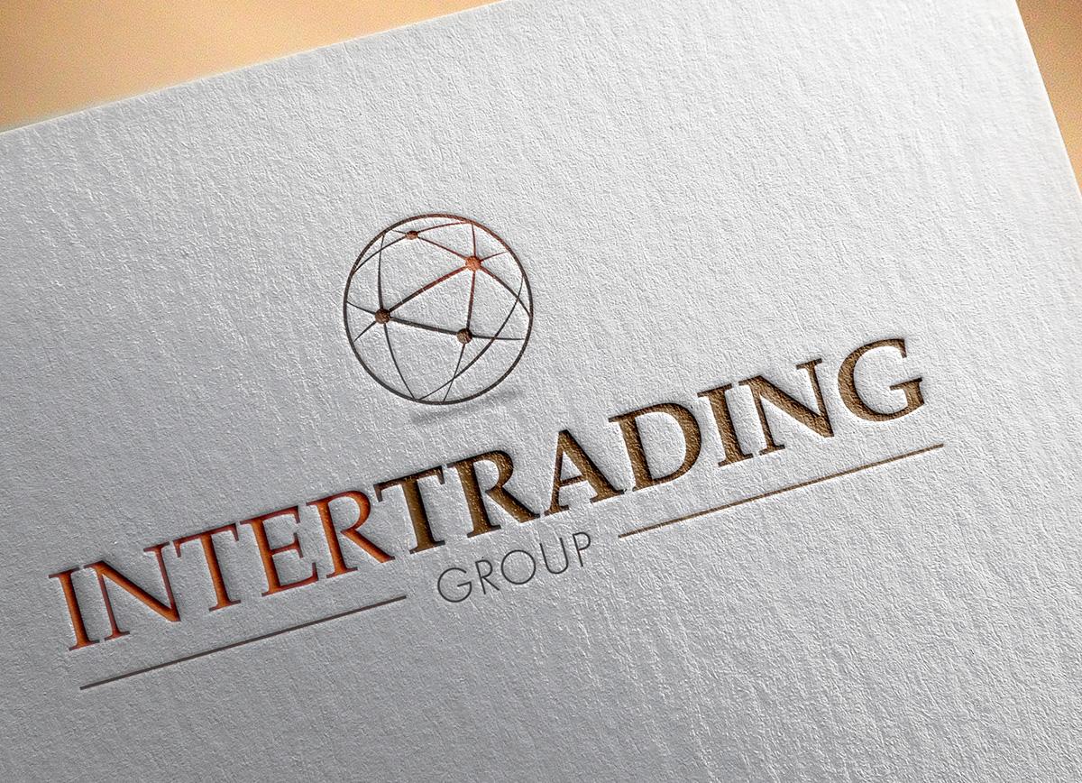 Intertrading group logo design