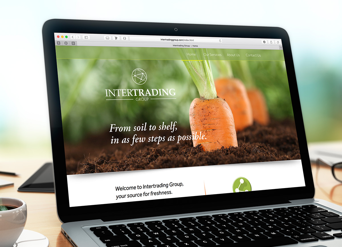 Intertrading Group webdesign