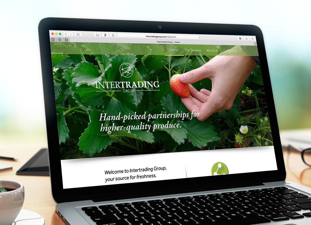 Intertrading Group web design