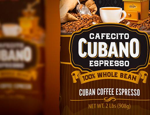 Allcoffee Cafecito Cubano Packaging