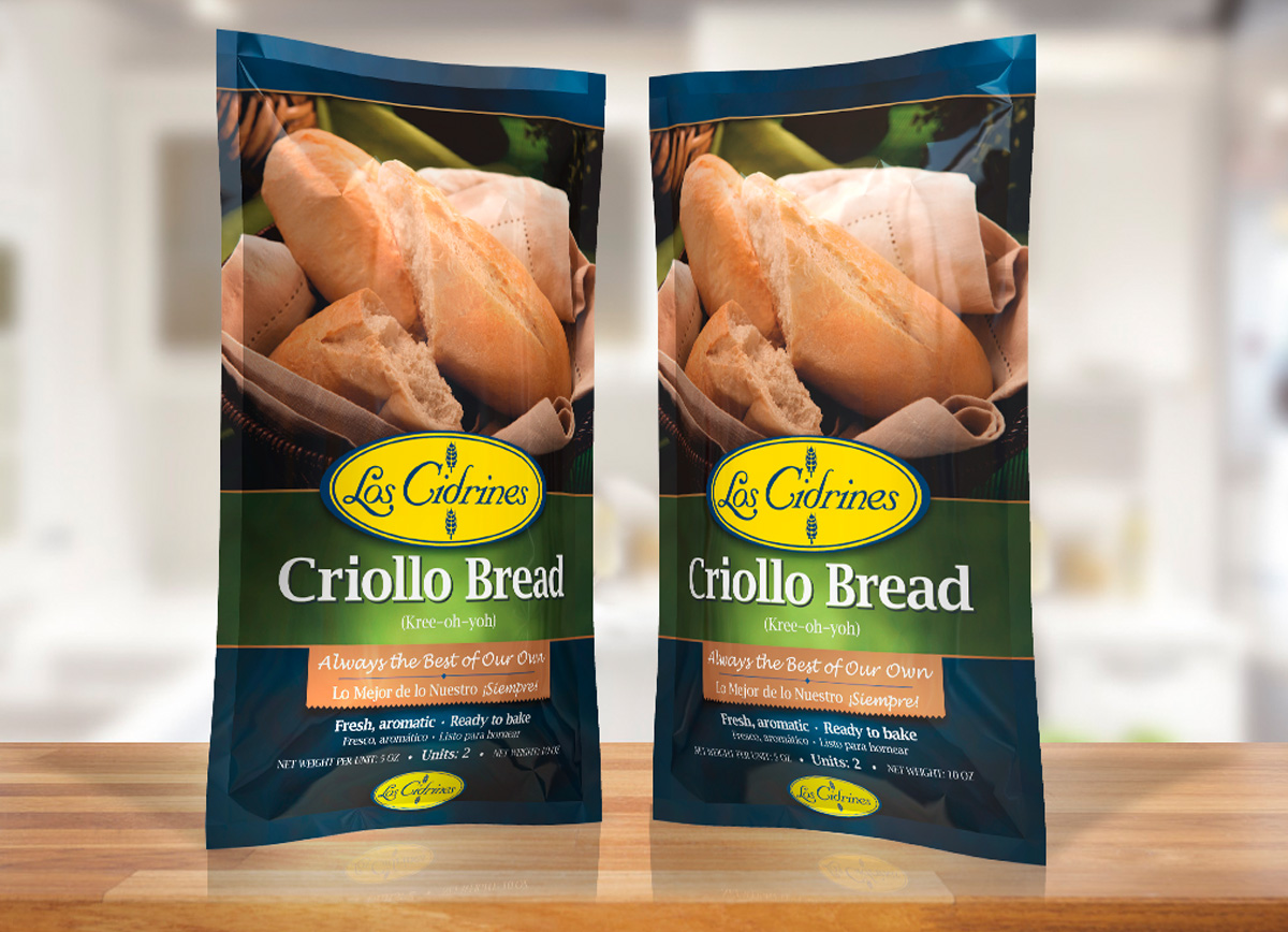 Cidrines Bread Packaging design