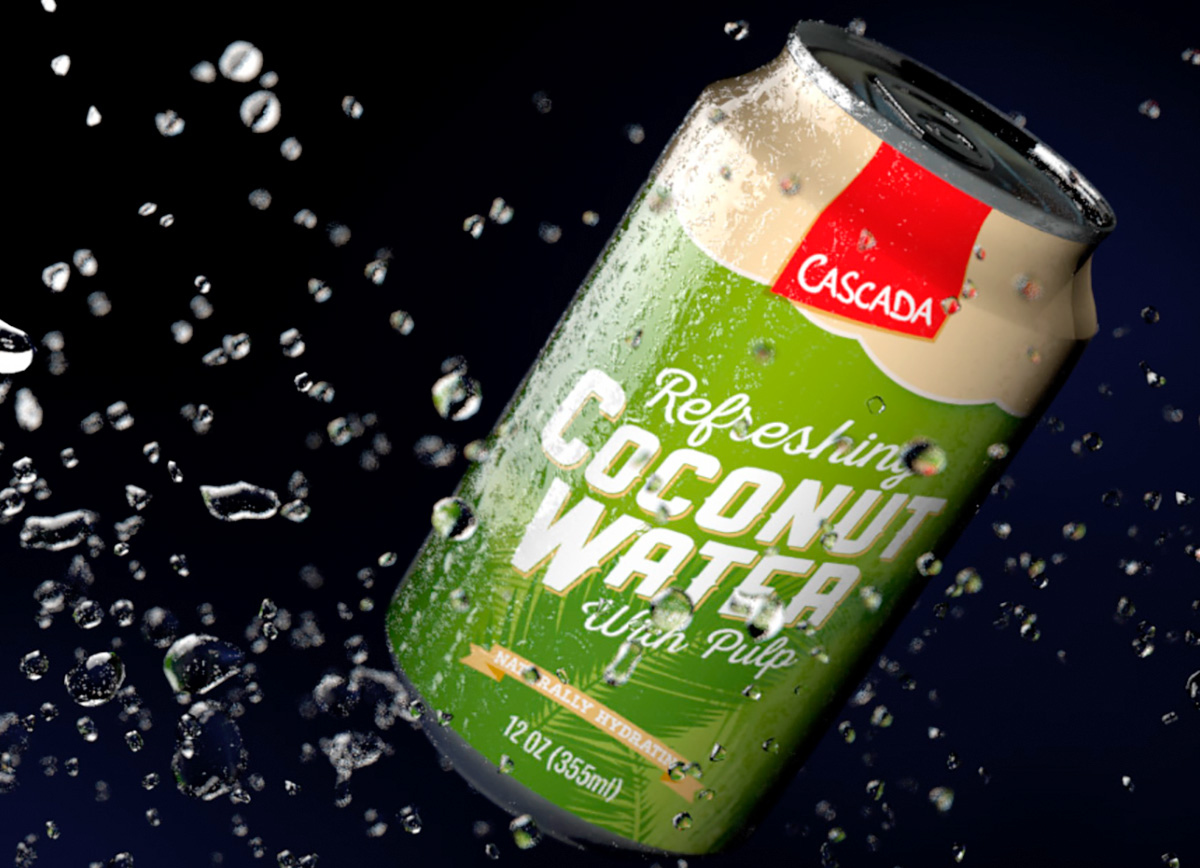 Cascada Coconut Water Can