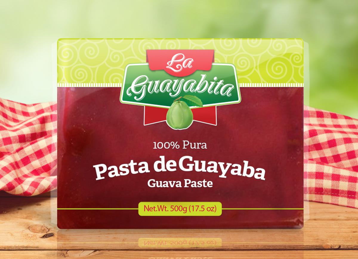 La Guayavita pacakging design