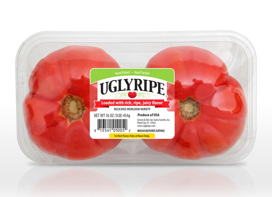 Ugly Ripe label design