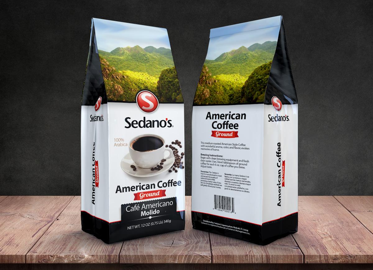 Sedanos american coffee