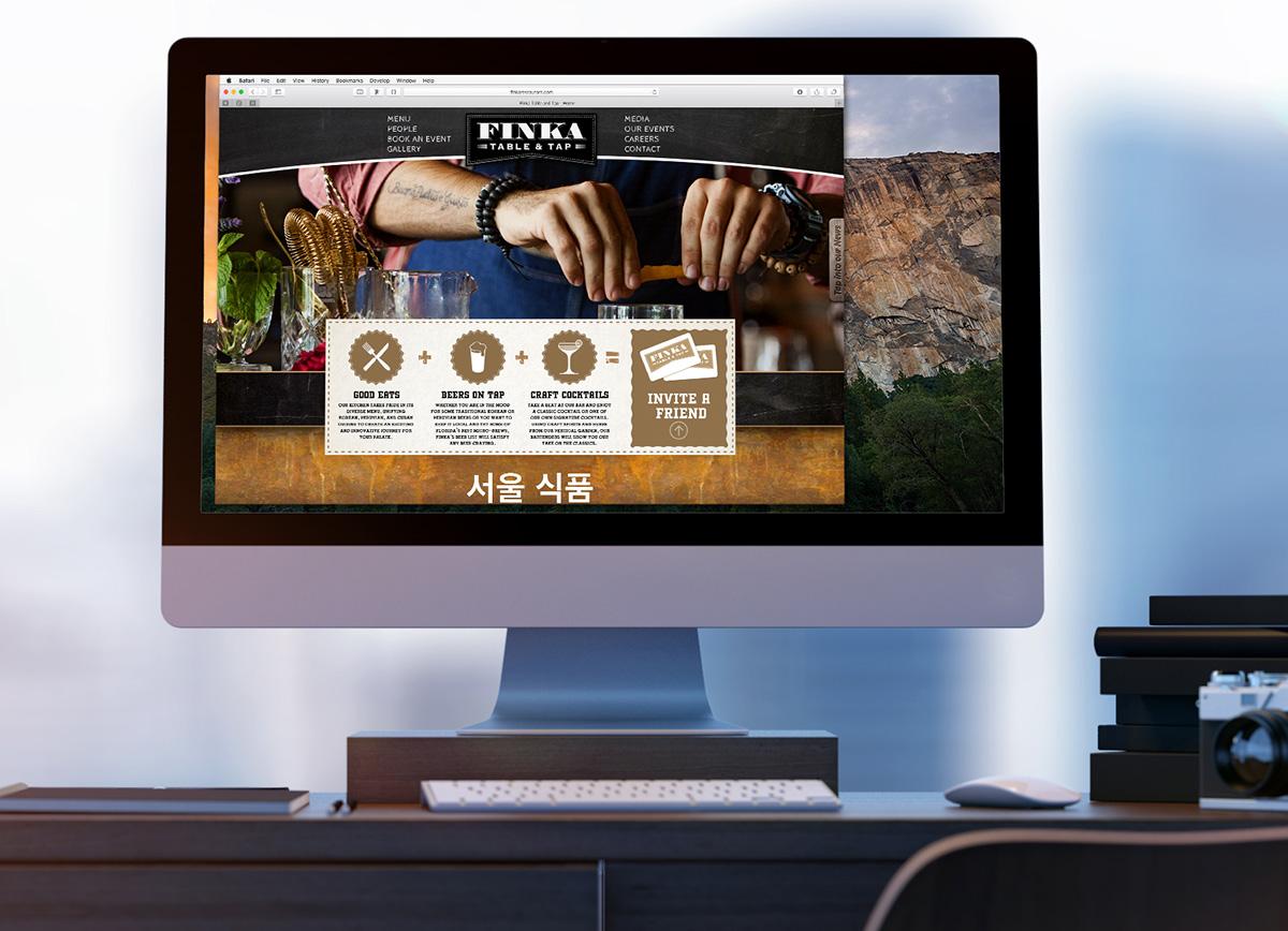Finka web design
